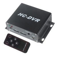 kaycube HC-DVR Dual Card 128GB TF SD Card Mini DVR 1CH Video+1CH Audio H.264 HDMI USB CCTV Camera Video Recorder Remote