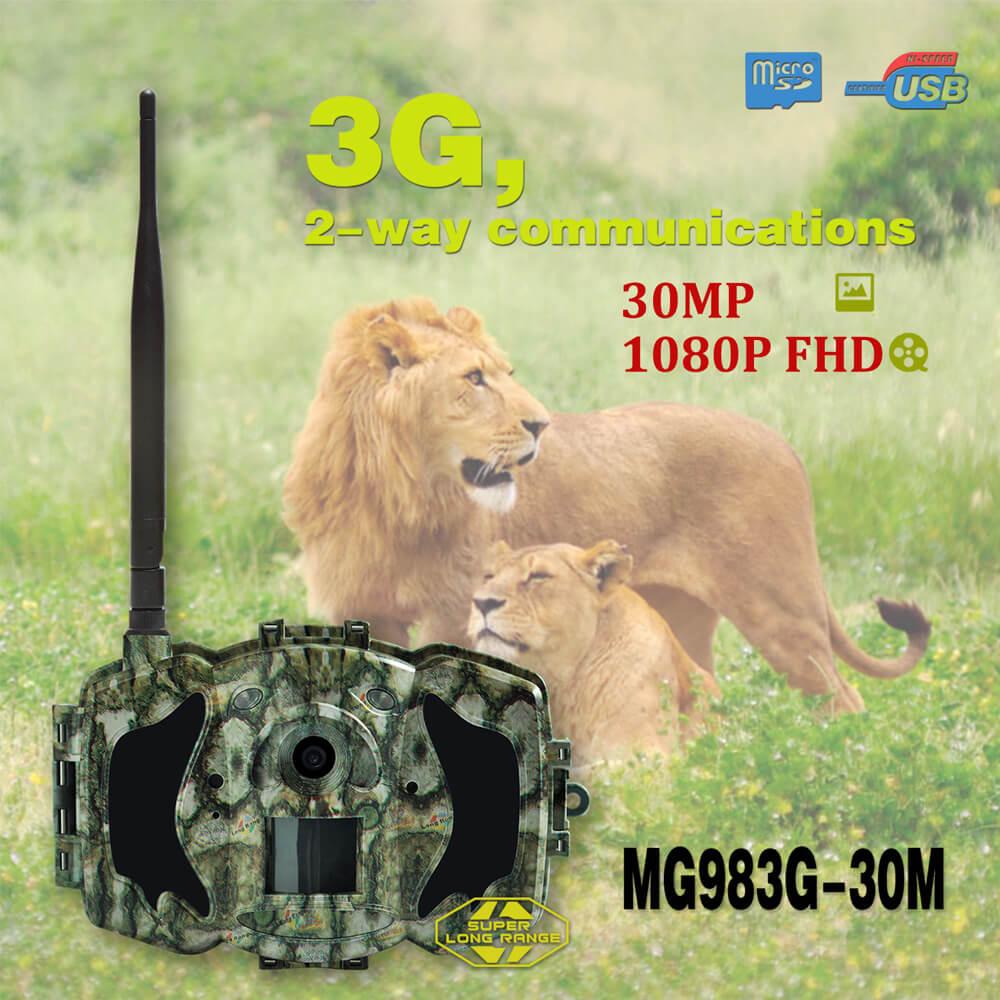 Bolyguard 30MP 1080P HD Trail Camera 3G Wireless Home Security GSM phone MMS GPRS Waterproof Anti Theft  Hunting Camera