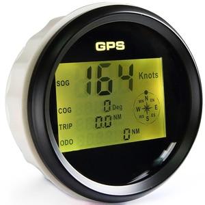 Image 5 - 防水デジタル GPS スピードメーター走行距離については自動船舶トラックと 7 色バックライト 3 3/8 (85 ミリメートル) 9 32V