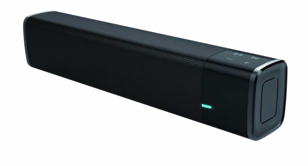 Big Power 20W Bluetooth Speaker Wireless Super Bass Sound Box Subwoofer Outdoor Porable Mini Computer Speaker Black Color