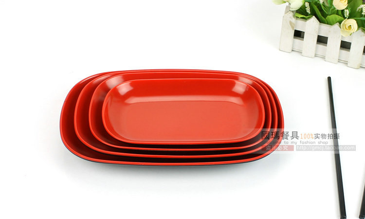 9.5INCH Japanese Style Top Quality Melamine Imitate Porcelain Plates Hotel Plastic Food Container Western Restaurants Pasta Dish-in Disposable Plates from ...  sc 1 st  AliExpress.com & 9.5INCH Japanese Style Top Quality Melamine Imitate Porcelain ...