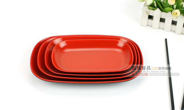 9.5INCH Japanese Style Top Quality Melamine Imitate Porcelain Plates Hotel Plastic Food Container Western Restaurants  sc 1 st  AliExpress.com & 9.5INCH Japanese Style Top Quality Melamine Imitate Porcelain Plates ...
