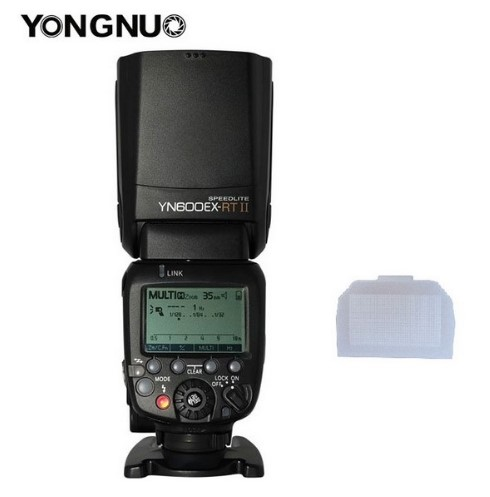 2019 YONGNUO YN600EX RT ii 2 4G Wireless HSS 1 8000s Master Flash Speedlite for Canon