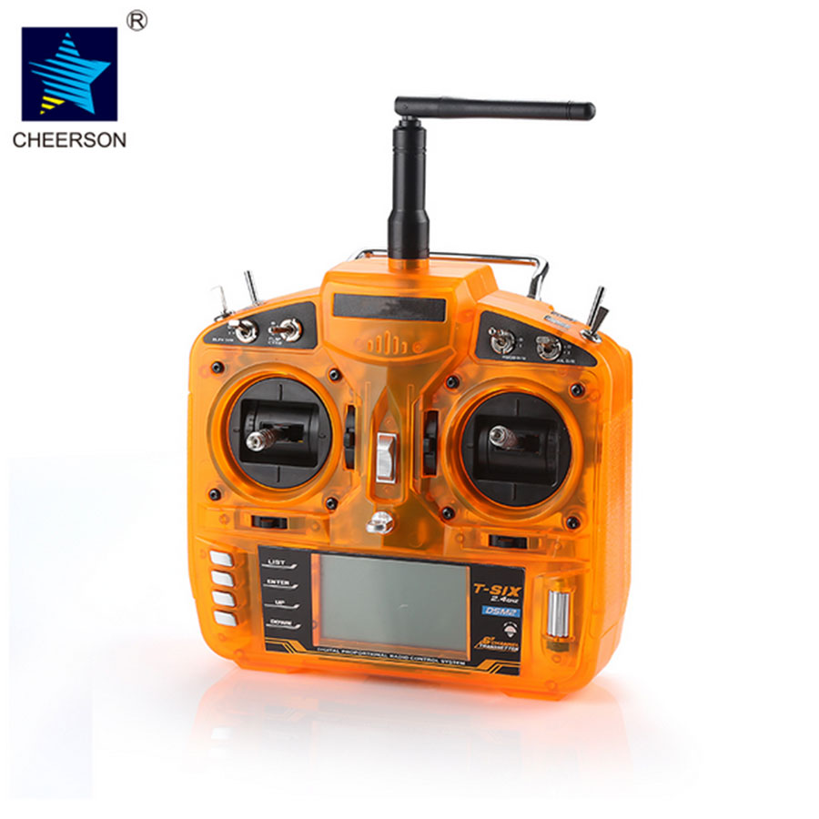 Original Cheerson Spare parts 2.4GHz 6CH Quadcopter DSM2 Compatible Transmitter With Redcon CM703 DSM2 Receiver
