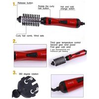 SURKER New Styling Tools 2 In 1 ProfESSional Multifunctional Hair Dryer Hair Curler Automatic Rotating Hair