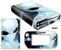 Alienígena Capa de Vinil Do Decalque Da Pele Para a Etiqueta para Nintendo WiiU Wii U Console & Controlador Skins Adesivos Frete Grátis