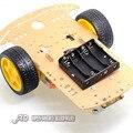 Двигателя Смарт Робот Автомобилей Шасси/Трассировка автомобиль Комплект Скорость Энкодера Отправить Батарейного модуля Для