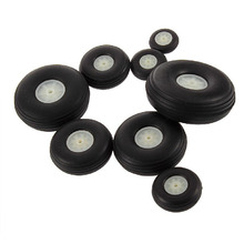 1PCS Rubber Wheel For RC Airplane Model And DIY Robot Tires