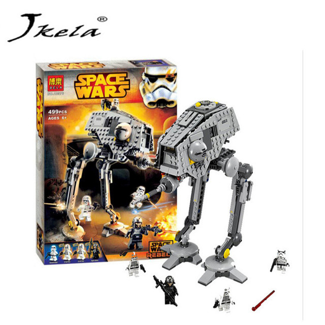 [New] 499pcs New Star Wars AT-DP Building Blocks for childrenGift Rebels Animated TV Series Compatible With Legoingly Starwars 499pcs new space wars at dp robots 10376 model building blocks toys gift rebels animated tv series bricks compatible with lego