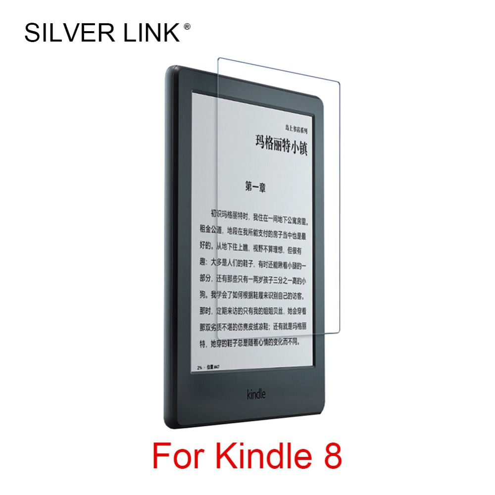 SILVER LINK 1X PET Ultra Clear/Matte Kindle Screen Protector Film For Kindle 8 Film Screen Guard Full Cover стоимость