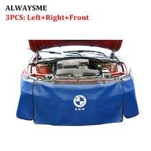 ALWAYSME 3 шт. набор автомобильный Автомобильный двигатель Магнитный крыло крышка коврик протектор захват автомобильный механик рабочий коврик с тяжелой нагрузкой