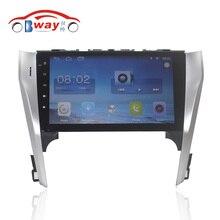 """Envío Libre 9 """"Quad core 6.0.1 Android Reproductor de DVD Del Coche Para Toyota Camry 2012 GPS de Navegación de Radio wifi, DVR"""
