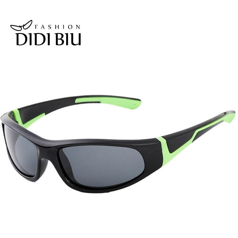 c70ba6938 ديدي TR90 التيتانيوم الاستقطاب النظارات الشمسية الاطفال الشتاء سلامة واقية  نظارات الفتيات الفتيان الأسود النظارات Oculos Infantil C477