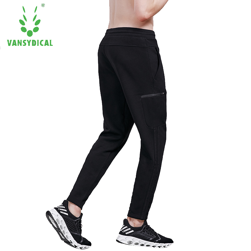 все цены на New Mens Sport Pants Running Gym Jogging Pants Men Plain Black With Side Pockets Training Sweatpants Outdoor Sports Trousers 3XL