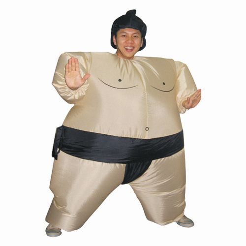 Adult Inflatable Sumo Costume Carnival Halloween Christmas Costumes Party Costume Free Shipping