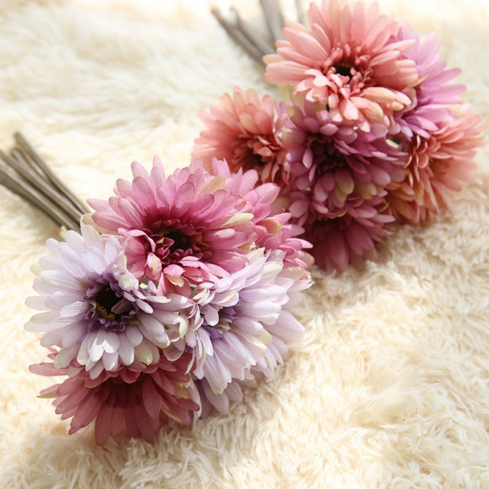 New Arrival 28cm 1 Bouquet Artificial Flowers Silk Flowers ...