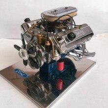 1:6 427 Sohc Модель двигателя сплав модель автомобиля
