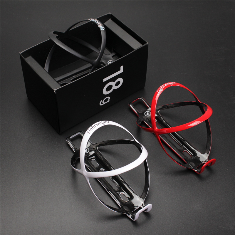 2017 (With box) Wholesale Pricelig edelhelfer <font><b>ht</b></font> weig <font><b>ht</b></font> to <font><b>18</b></font> g of carbon bicycle bottle cage Carbon bottle holder with water image