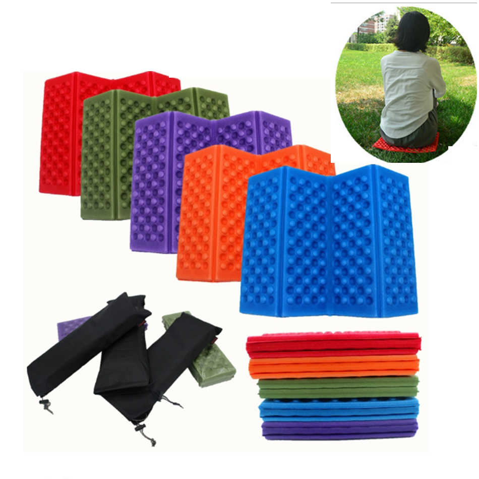 Outdoor Folding Chair Foldable Foam Mat XPE Foam Four Fold Folding Cushion Moisture-proof Waterproof Picnic Mat Best Selling