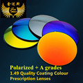 quality HMC 1.49 myopia mirror colour prescription polarized lenses HMC CR39 uv protection anti scratch optical eyeglasses lens