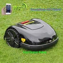 Новейший 5th Gerneration смартфон приложение робот-газонокосилка E1600T с 13.2ah литиевой батареей, гироскоп навигационная функция
