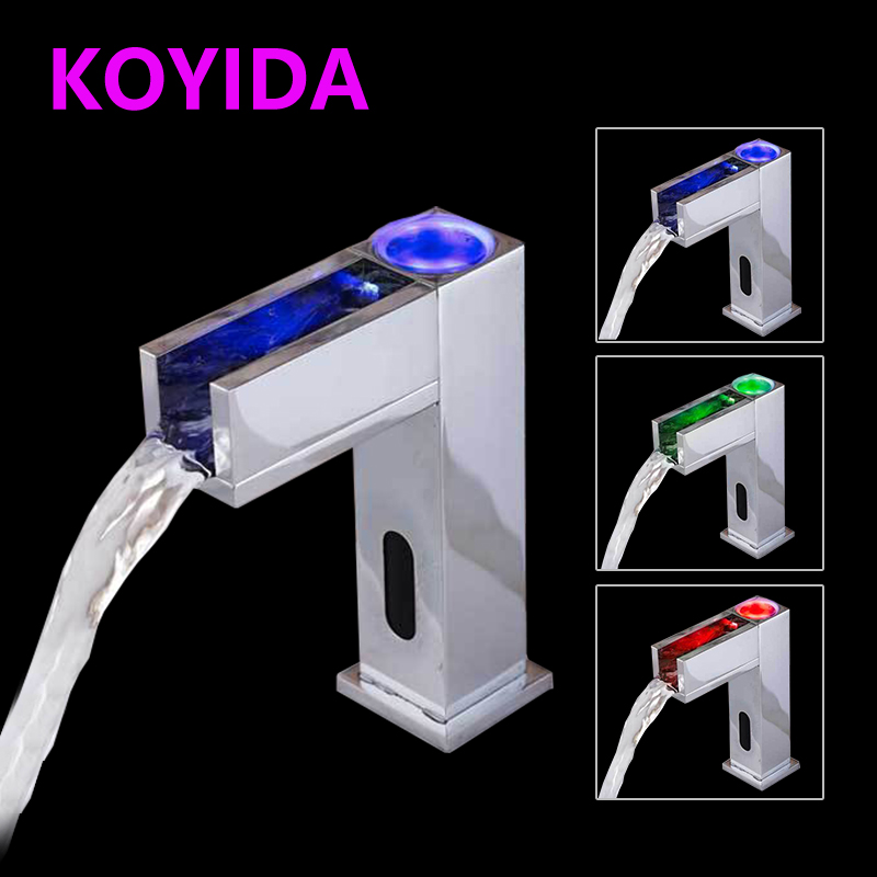 KOYIDA Automatic Hand Touch Infrared Sensor Faucet Basin