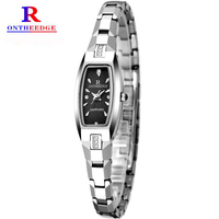 Fashion Women Wristwatches Top Luxury Brand Female Waterproof Quartz Clock Ladies Bracelet Wristwatches Mode Montres Femmes 2017