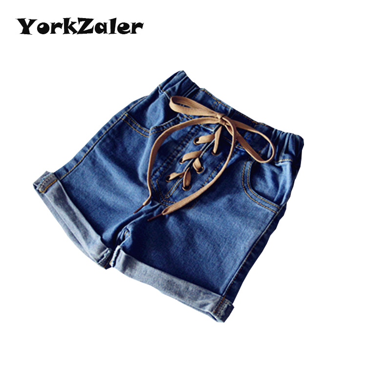 New Arrive Girls Jeans Pants Fashion Baby Girl Elstic Jeans Shorts Kids Girl Pants Clothes Summer Clothing For Children