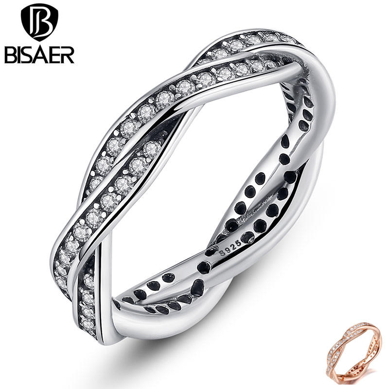 Prix pour 925 En Argent Sterling De Mariage Bande Bagues de Fiançailles pour les Femmes bijoux De Mariage de Fiançailles Compatible avec Bijoux En Argent Sterling