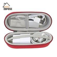 Чехол для путешествий Snailhouse эллиптический портативный эва сумки для хранения переносные ручные корпусы гарнитурные Зарядное устройство USB для мобильного телефона кабель-молния коробка