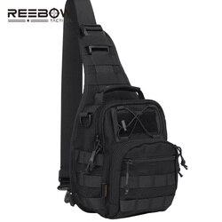 الرجال العسكرية التكتيكية حبال حزمة رخوة جيوب الصدر مع أصغر واحد الكتف edc للخارجية الرياضة ركوب