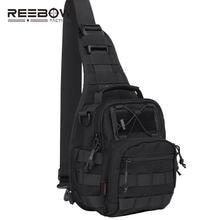Мужская сумка на одно плечо армейская тактическая ремне с нагрудными