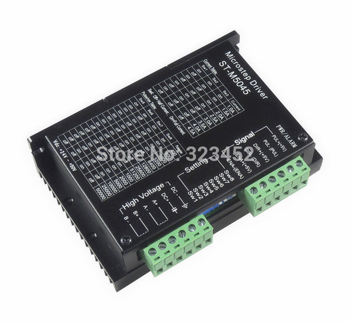 4PCS/lot Free shipping 24-50VDC 256 Subdivision M542 CNC Micro-Stepping Name23 Stepper Motor Driver 2M542 Bi-polar 2phase 4.5A art stone art stone smm015