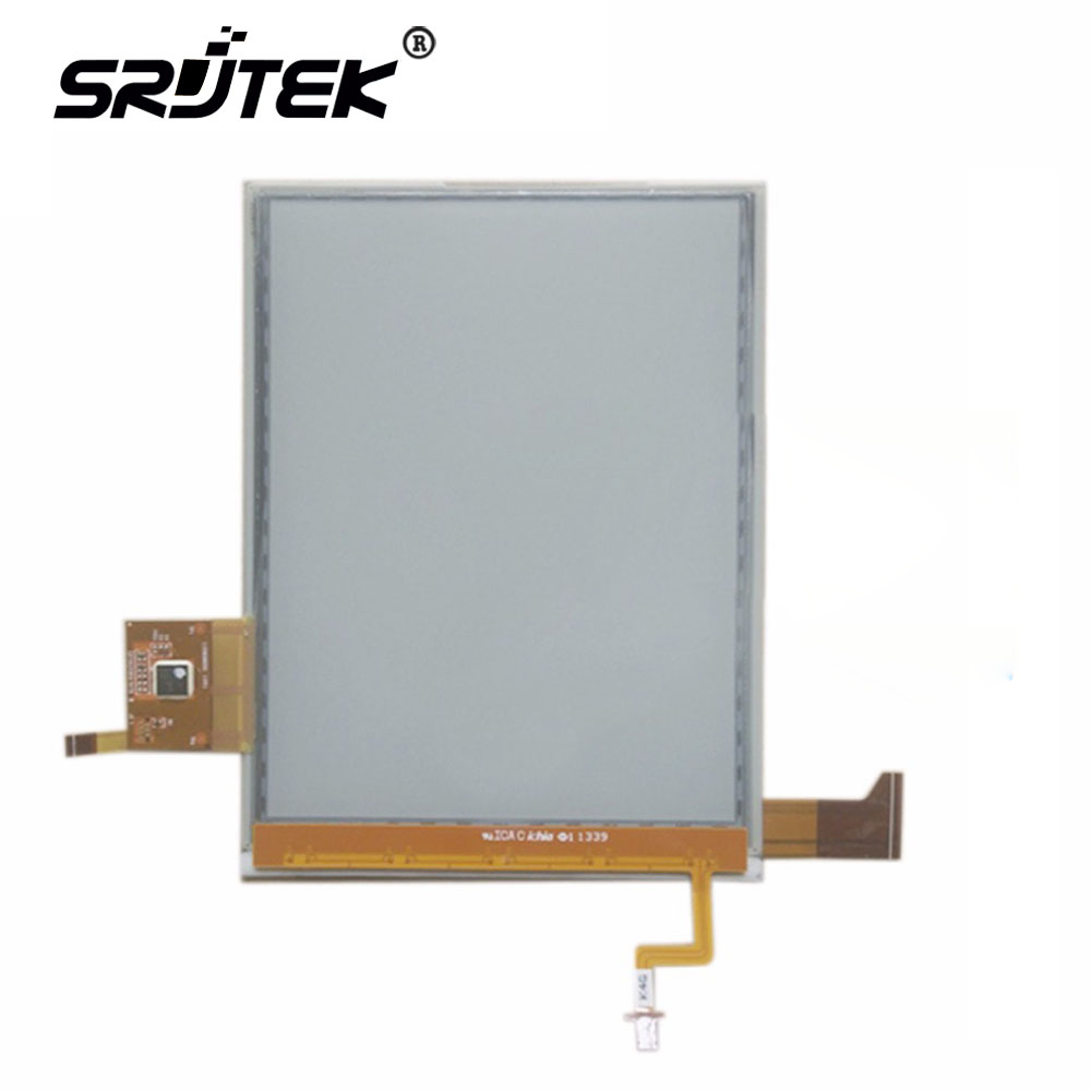 SRJTEK 6'' inch LCD display For ED060XH2(LF)-00 ED060XH2 E-ink HD screen with touch screen for ebook reader Free shipping