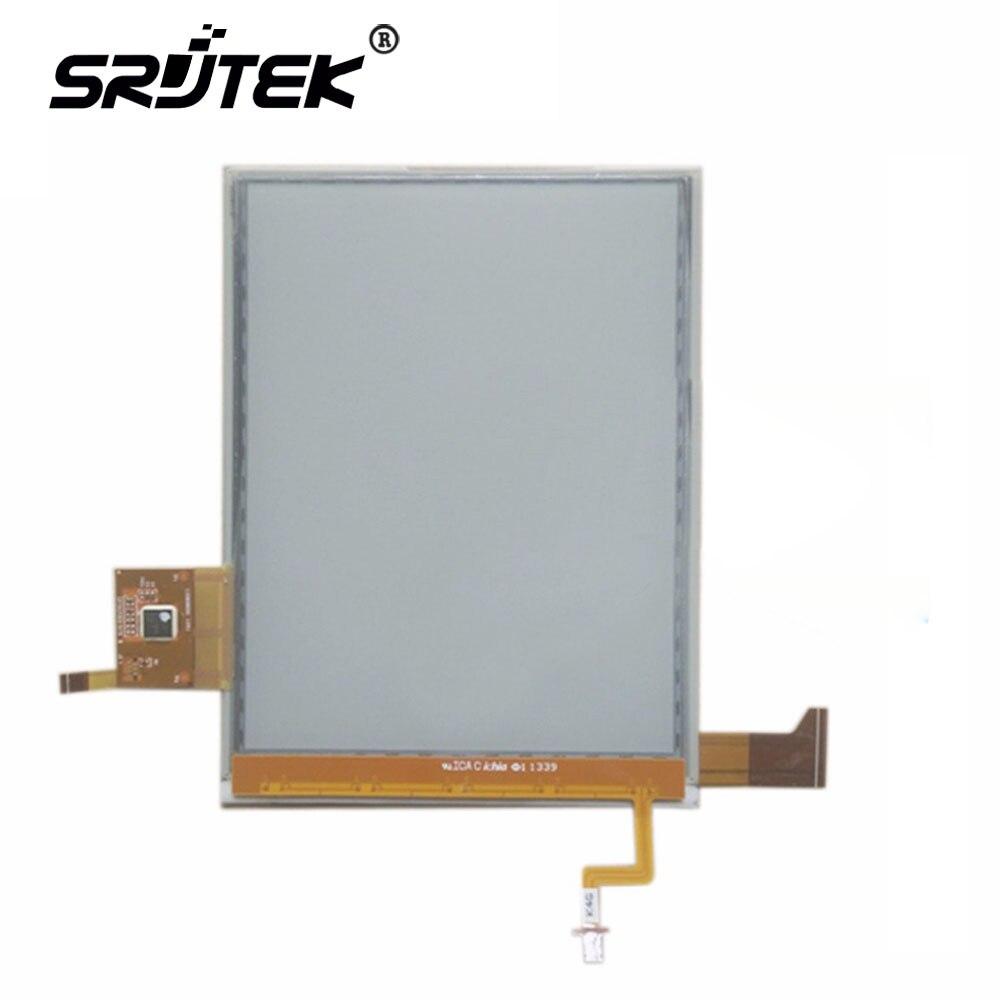SRJTEK ecran LCD 6 ''pouces pour ED060XH2 (LF)-00 ED060XH2 e-ink HD ecran tactile pour lecteur ebook livraison gratuite