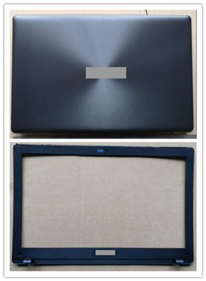 New laptop top case base cover + lcd front bezel for ASUS X550 X550C X550LA X550LB X550V A550V Y581CF550C