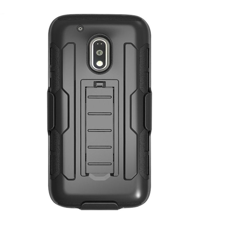 For Moto G G2 G3 G4 Plus X play Case armor hybrid case for Moto X X2 X3 E2 E LTE Z Force DROID Play belt clip stand Case cover