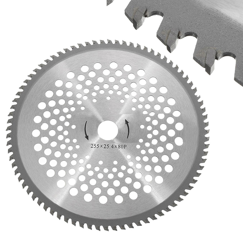 10'' 80 Teeth Circular Saw Blade Wheel Discs For Cutting Brush Cutter Trimmer Weed-eater Replacement Blade Mayitr