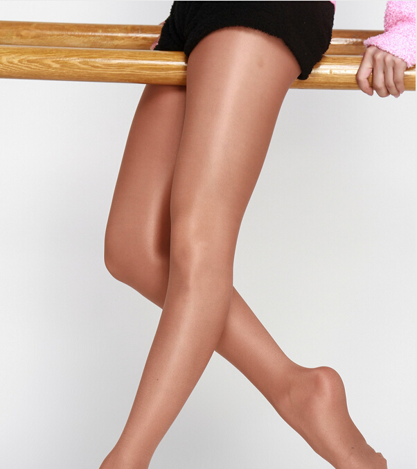Free Shipping Hot Sale Ladies Women Shiny Glitter Glossy Sheer To Waist Ultra Shimmer / Shimmery Footed Dance Tights