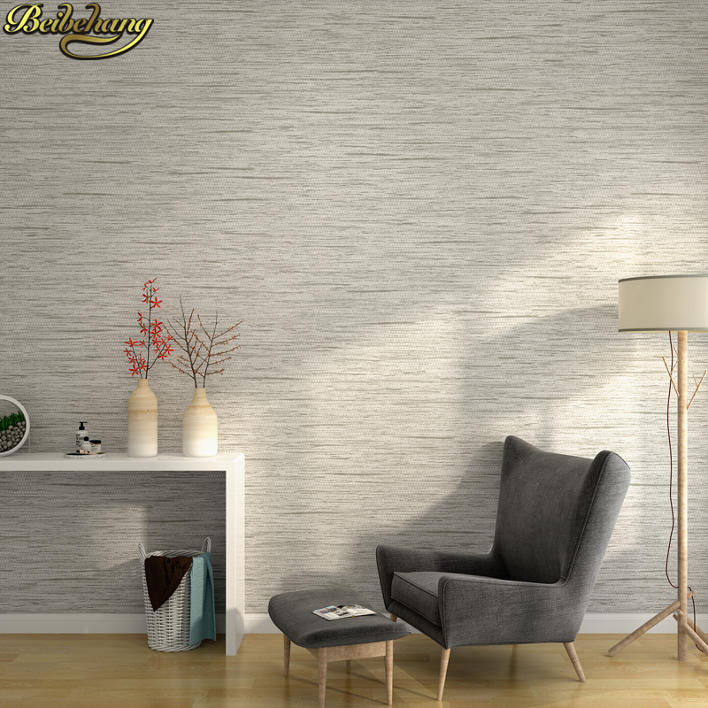 beibehang papel de parede Plain linen wallpaper for walls 3 d wall paper for living room bedroom wall papers home decor tapety sexy beauty wallpaper for walls 3 d living room papel contact hotel wall covering murals 3d flooring wall paper home decor