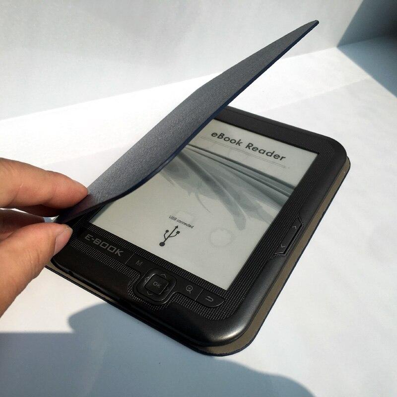 6 pouces 8 GB e encre électronique écran d'encre numérique ebook lecteur intégré 8 GB mémoire support carte SD e livres e-ink mp3 palyer