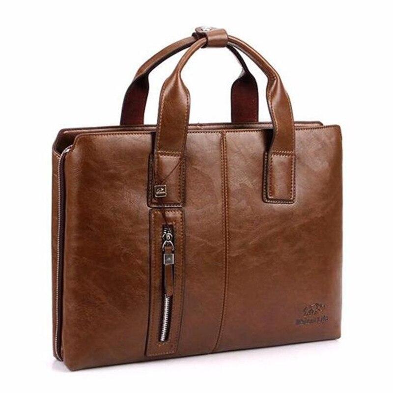 ФОТО bedrock price 2017 New designer brand 100% Split Leather bag Men messenger bags men's briefcase business big size bags