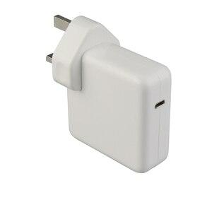 Image 4 - 최신 macbook pro 15 인치 a1706 a1707 a1708 a1719 용 1.8 m USB C 충전 케이블이있는 87 w USB C 전원 어댑터 유형 c 충전기