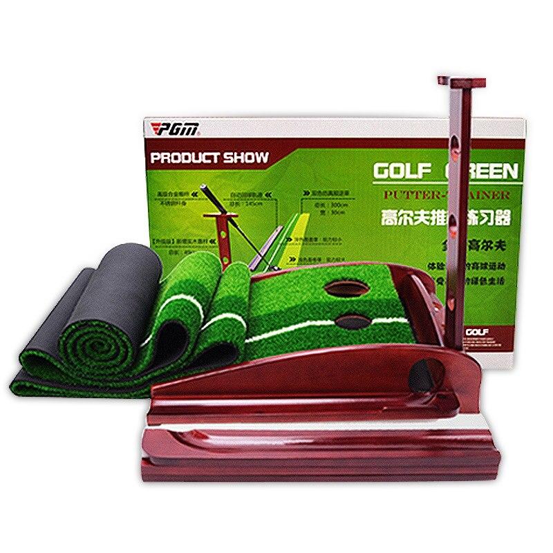Pgm Indoor Wood Golf Putting Reen Practice Office