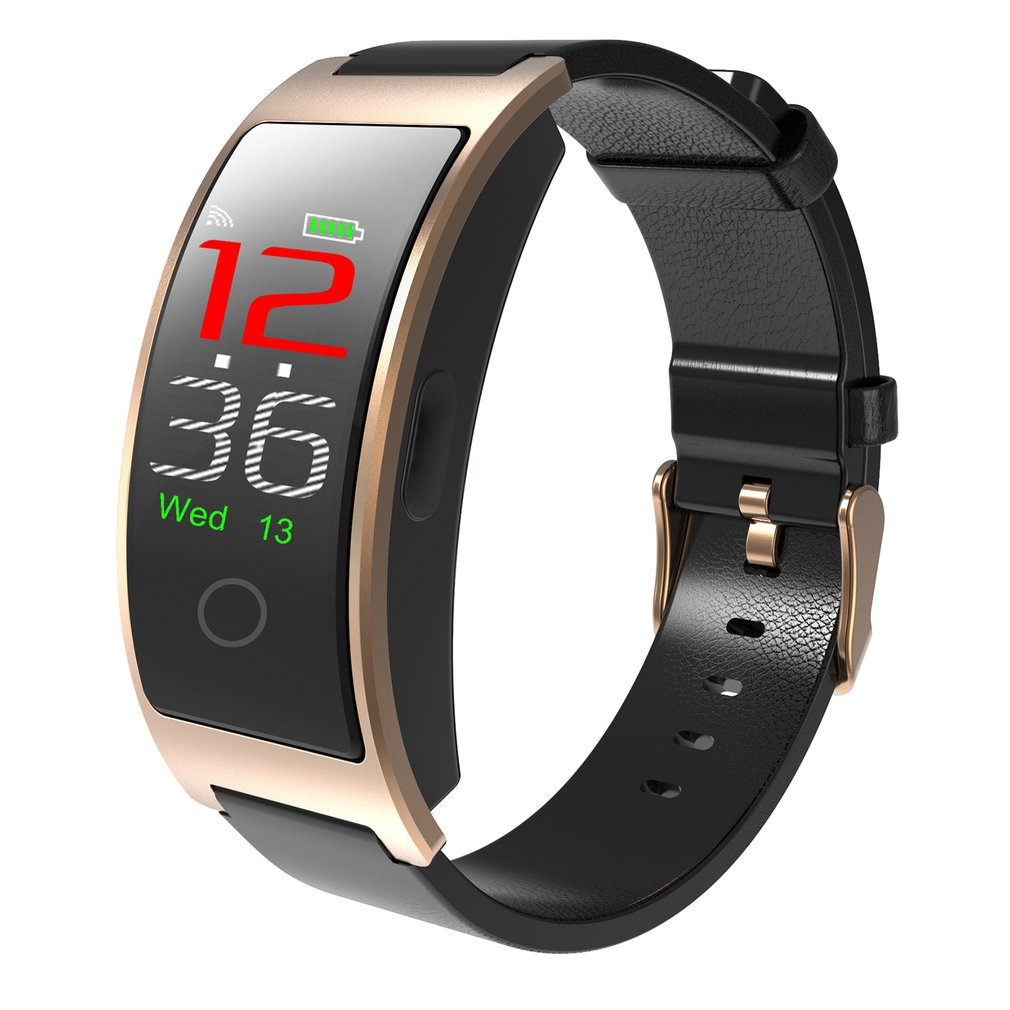 CK11C Smartband With Heart Rate Blood Pressure Monitoring Pedometer Bluetooth Bracelet Waterproof  0.96 Inch Screen Sports Watch