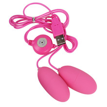 Dual USB прыжки яйца 12 частота пуля Любовь Яйца Вибратор Для женщин Секс-игрушки o70718