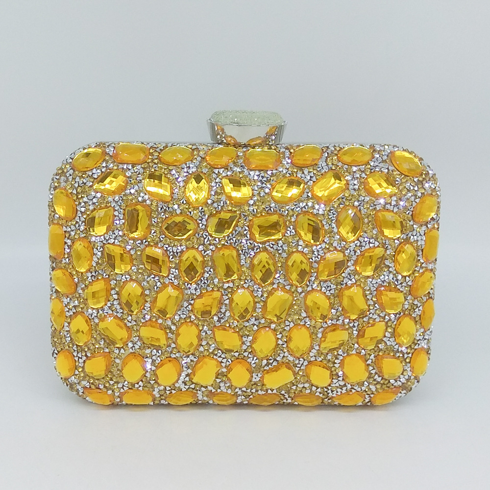 Special Crystal Clutch with Shining Rhinestones for Women, Evening Day Clutch, Great Gift for Ladies clutch for heidelberg mo