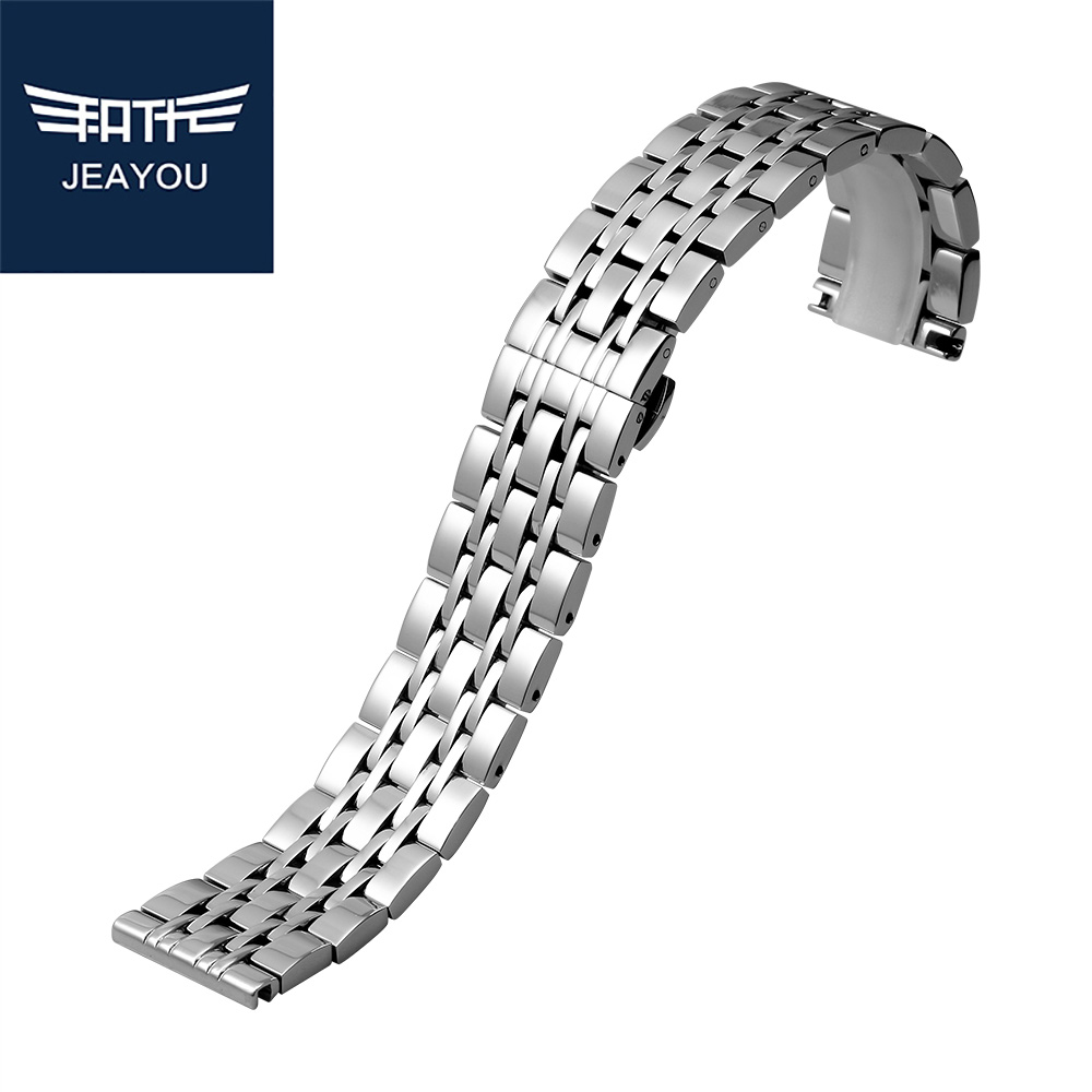 Jeayou Men Stainless Steel Watch Strap For Armani With Deployment Button  22mm(china (mainland