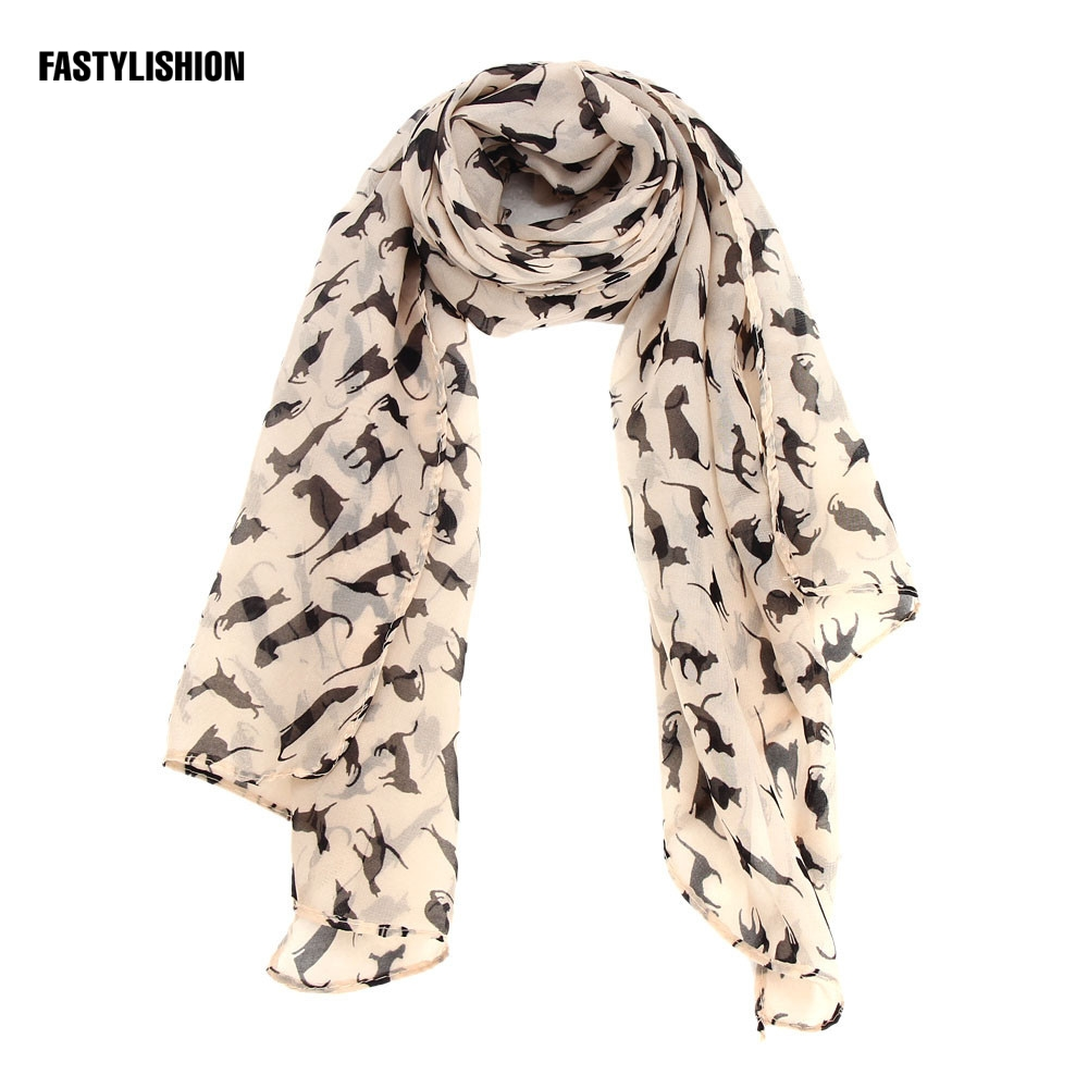 Elegant Ladies wonderful Chiffon soft scarfs   wrap   short for Global Pattern elegant edition   scarf     scarves   shawls
