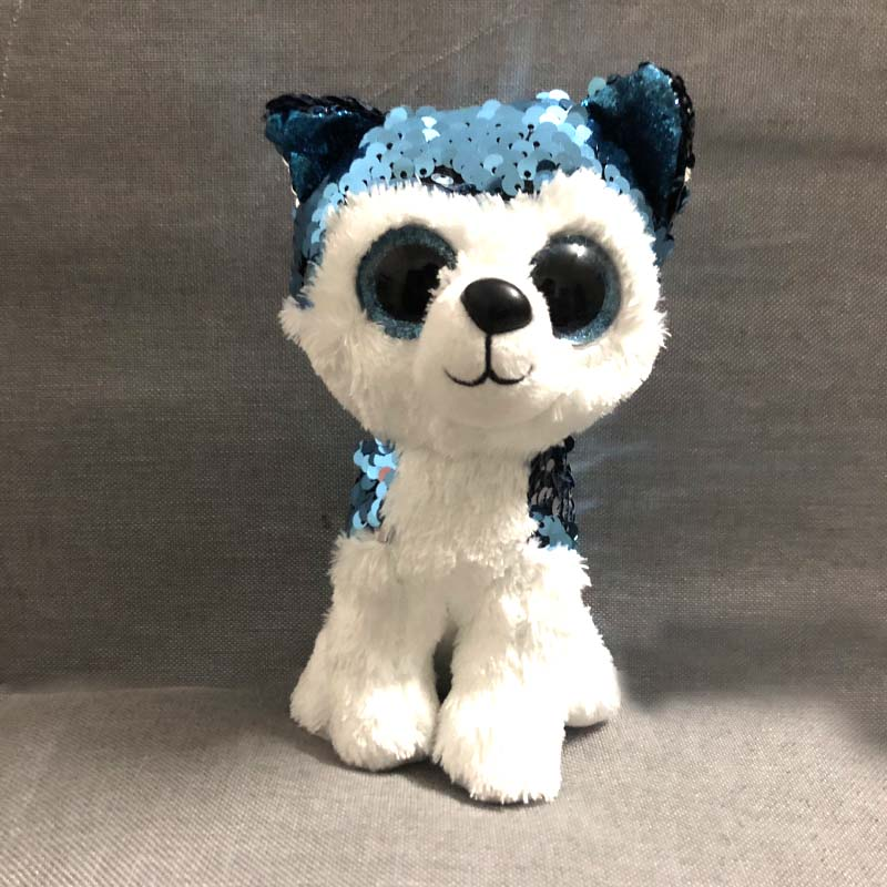 "Ty Beanie Boos 6/"" 15cm Merlin the Dragon Plush Regular Stuffed Animal Collection"